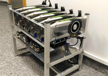 Koparka kryptowalut 6 x NVIDIA 1070 GTX