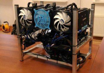 Koparka kryptowalut 6 x AMD RX 570